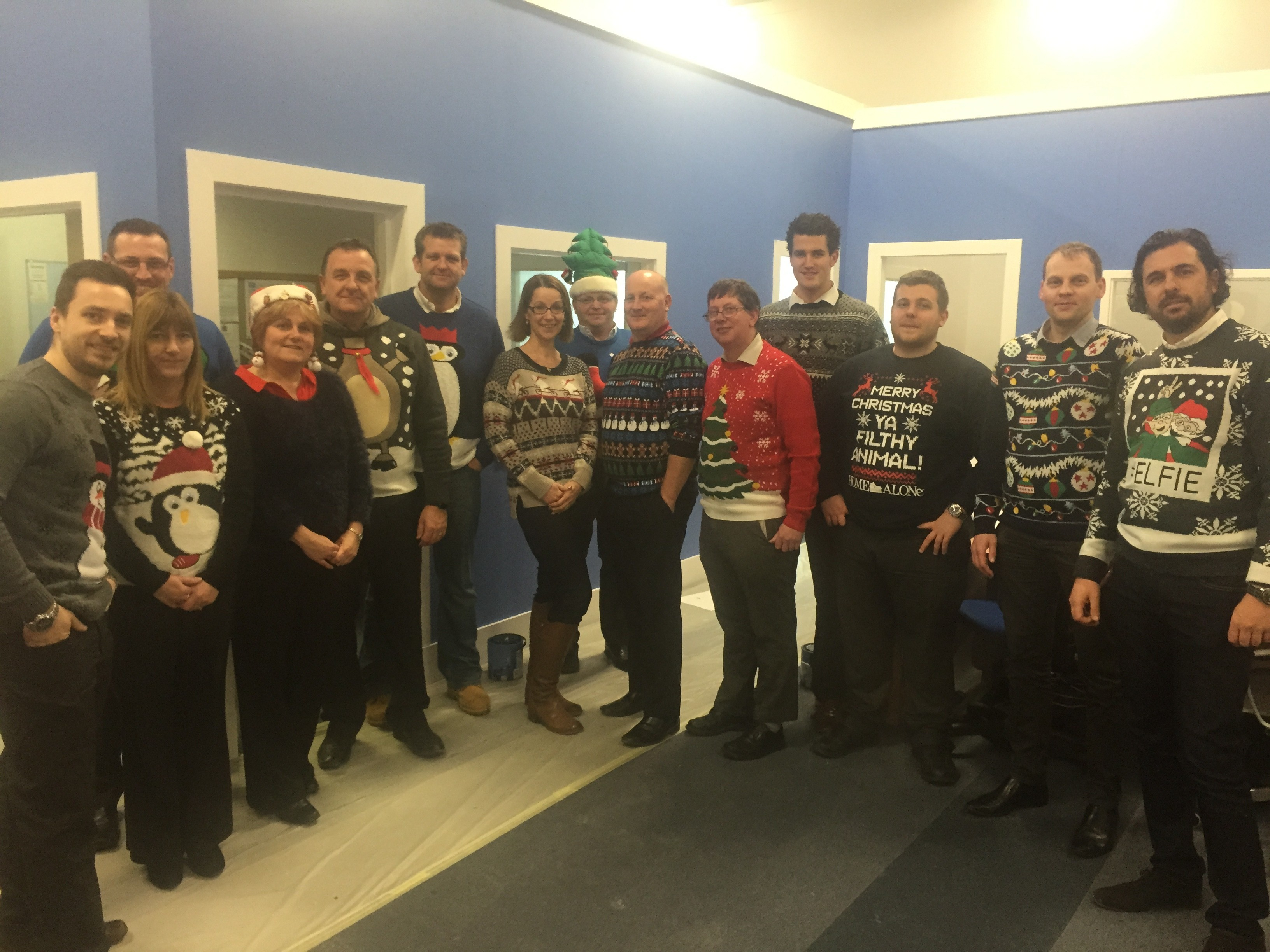 Winning Christmas Jumpers